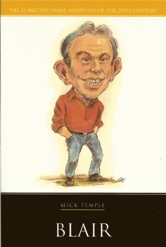 Cover of Blair by Mick Temple, an introductory biography of the politician