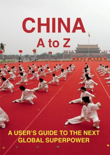 Cover of China A to Z: A User's Guide to the next Global Superpower by Kai Strittmatter
