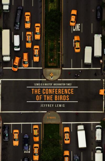 Cover of The Conference of the Birds by Jeffrey Lewis