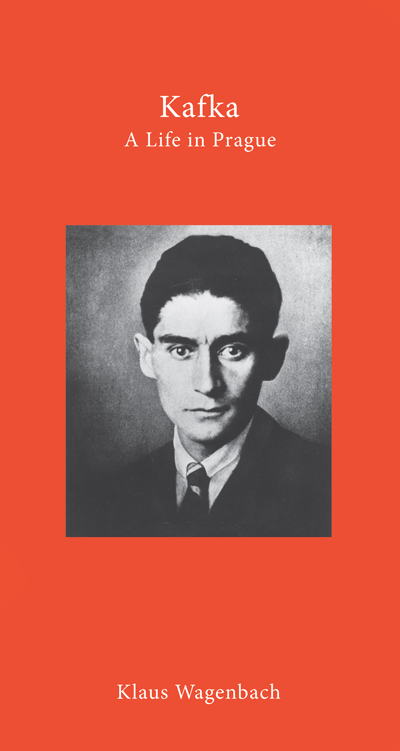 Cover of Kafka: a life in Prague, short biography of the writer by Klaus Wagenbach
