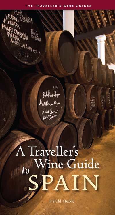 Cover of A Traveller's Wine Guide to Spain by Harold Heckle