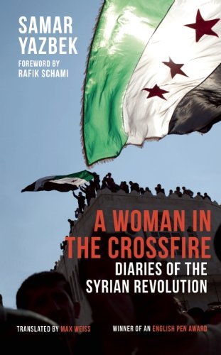 Cover of A Woman in the Crossfire by Samar Yazbeck