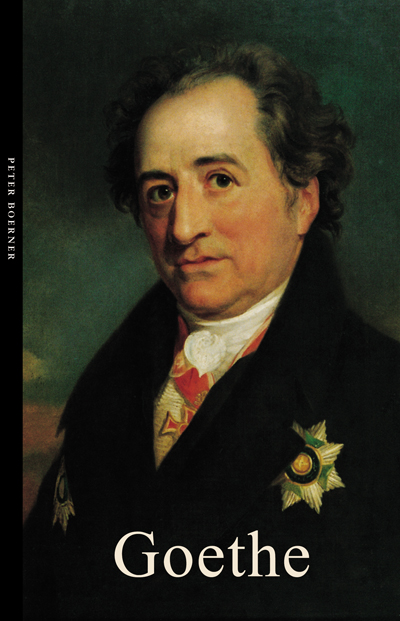 Cover of Goethe by Peter Boerner