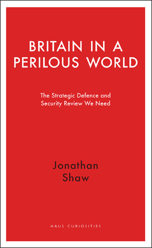 Britain in a Perilous World cover copy